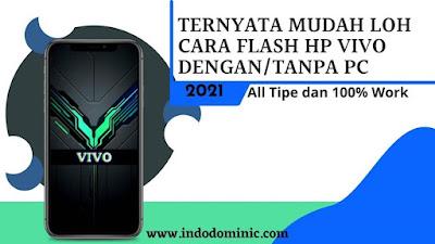 Cara Flash HP Vivo Bootloop, Lupa Sandi Tanpa PC
