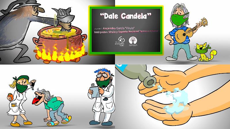 Virulo & Septeto Nacional Ignacio Piñeiro - ¨Dale Candela¨ - Videoclip / Dibujo Animado - ICAIC - EGREM. Portal Del Vídeo Clip Cubano