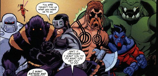 Kelompok Superhero DC yang Memparodikan Avengers Marvel