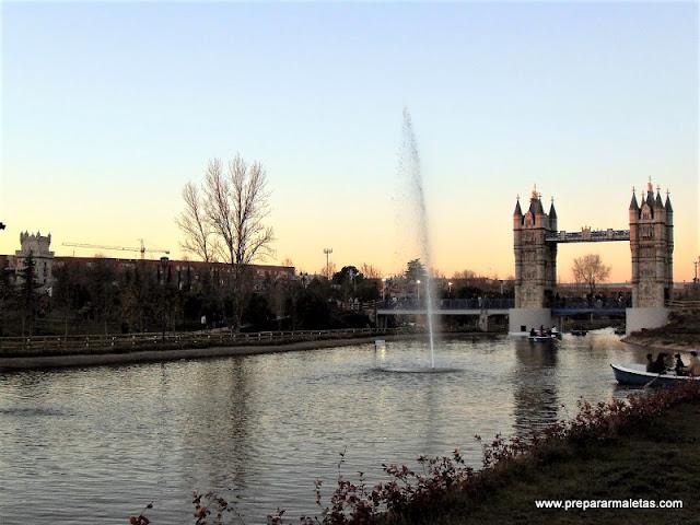 parque con monumentos de Europa en Madrid