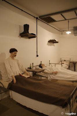 Il Forte di Mutzig non era solo dotato di un'infermeria ma bensì di un ospedale