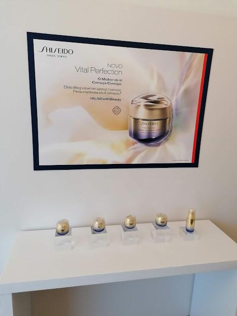 Novo creme shiseido