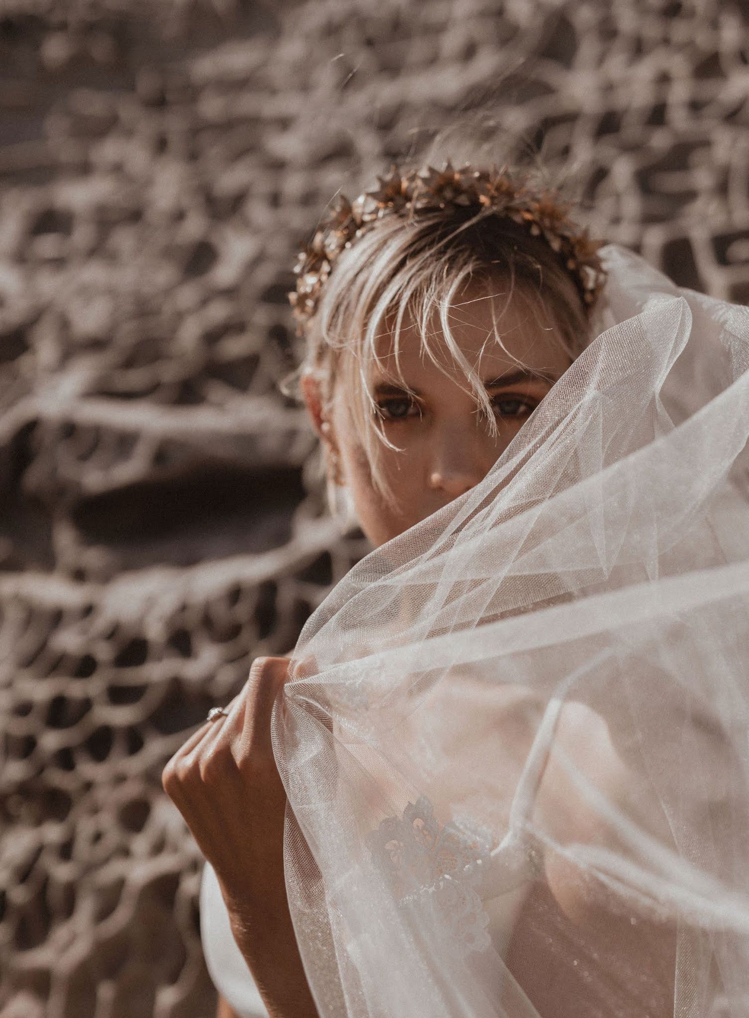 BRIDAL: KAREN WILLIS HOLMES BRIDAL VEIL COLLECTION 2019
