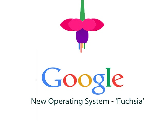 Google New Operating System Named 'Fuchsia'