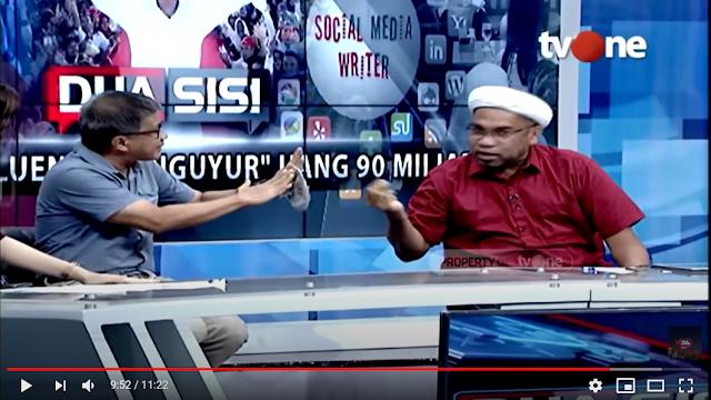 Menohok! Rocky Gerung Skak Mat Ngabalin & Prof Staf Kominfo: Kalian Berdua Saya yang Gaji!