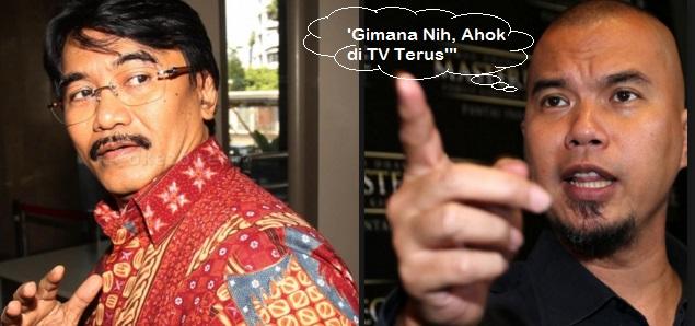 """""""Ahmad Dhani Bilang ke Saya, 'Gimana Nih, Ahok di TV Terus'"""""""