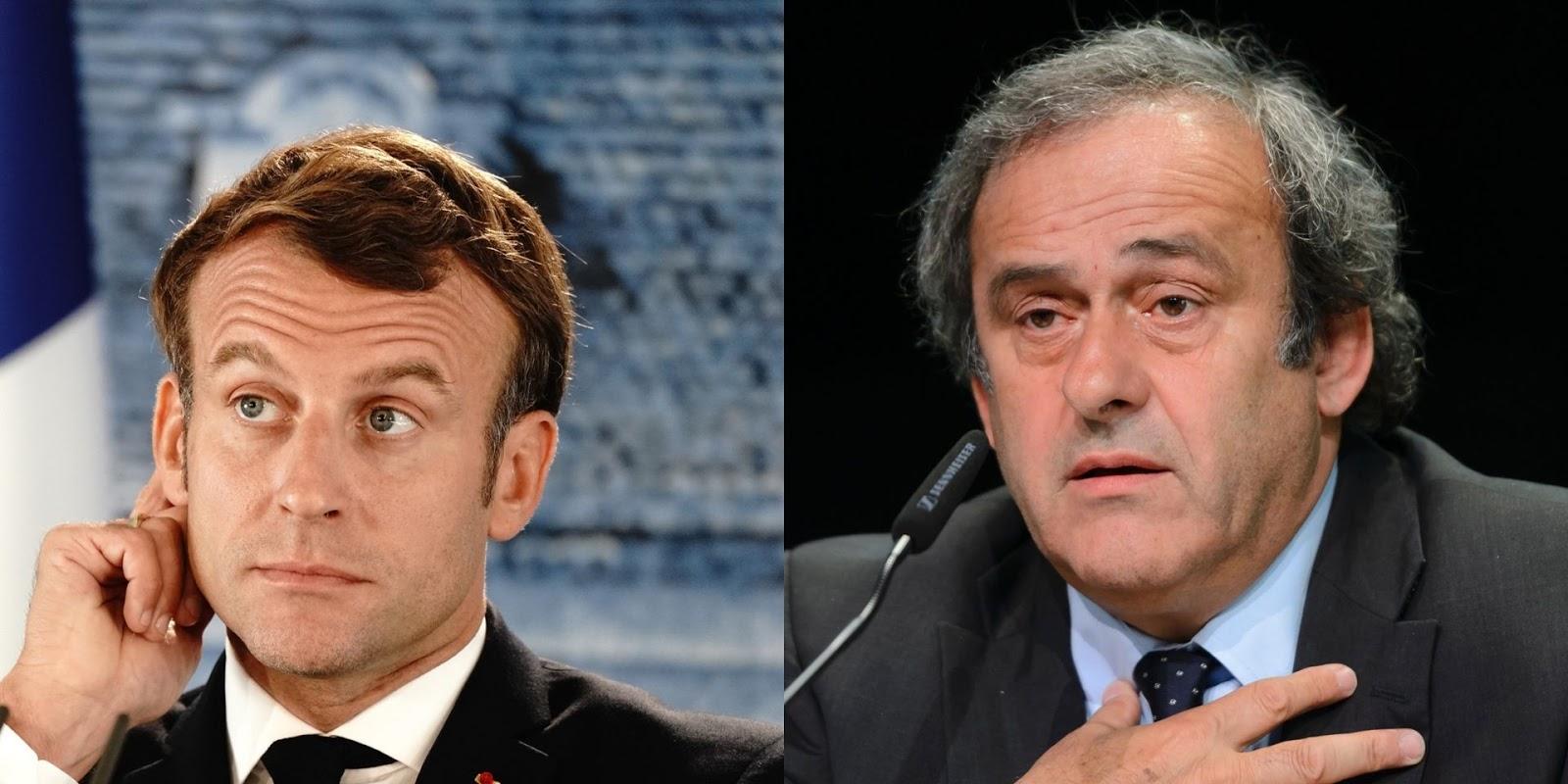 Michel Platini aidé par Emmanuel Macron dans ses démêlés avec la justice ?