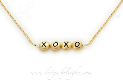 XOXO Necklace Gold - Valentine's Day Gift Ideas