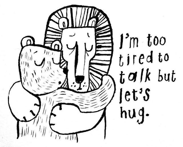 心累了,來抱抱吧