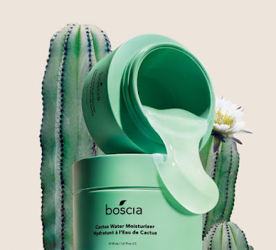 Intense moisture without the weight with Boscia Cactus Water Moisturizer!