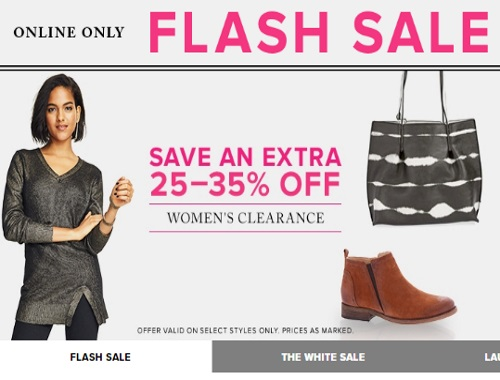 Hudson's Bay Flash Sale 25-35% Off Women's Clearance