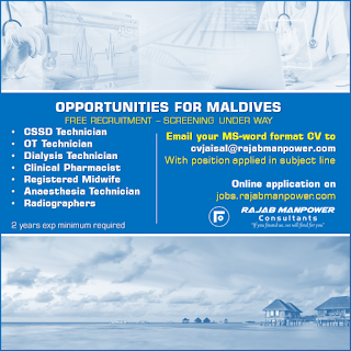 Opportunities for Maldives text image