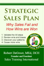 Strategic Sales Plan book cover