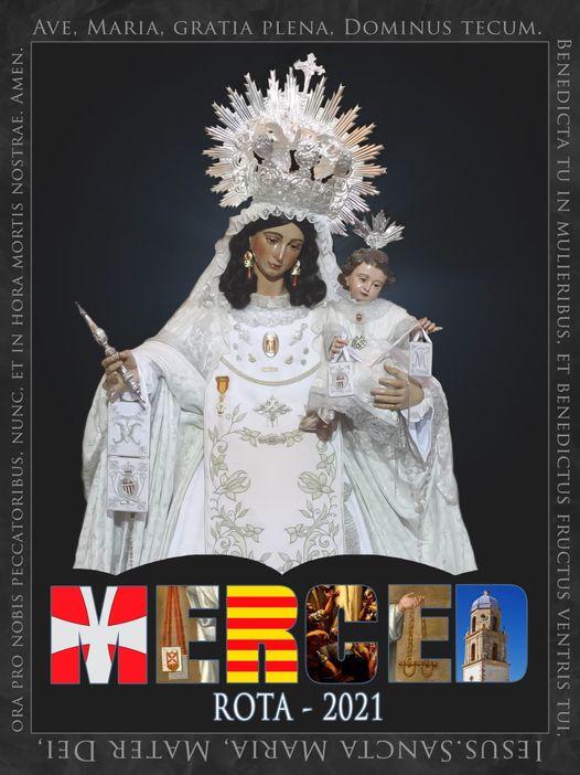 Cartel Anunciador de la Festividad de la Virgen de la Merced de Rota 2021
