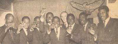 Students celebrate Zambian independence