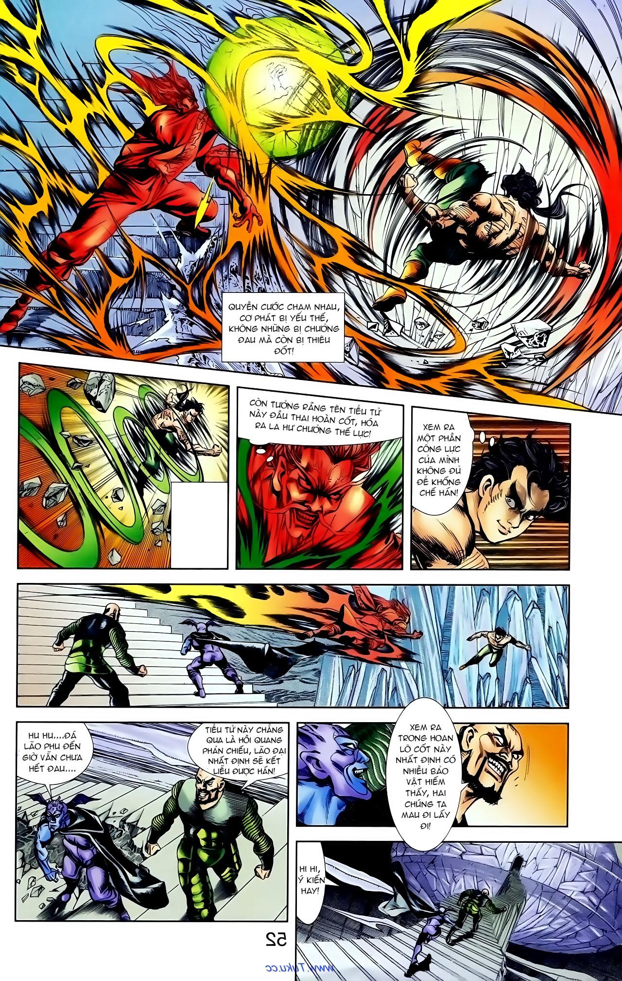 Cơ Phát Khai Chu Bản chapter 100 trang 19