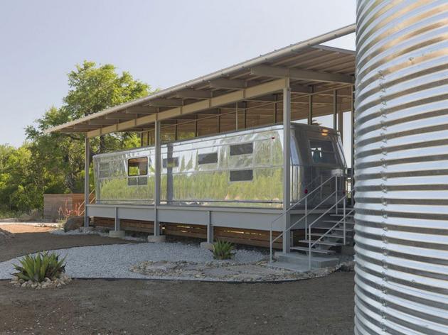 Desain Rumah Unik Terbuat dari Gerbong Kereta Api | Desain ...