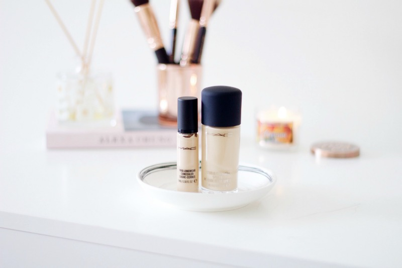 Mac studio fix & prolongwear concealer review