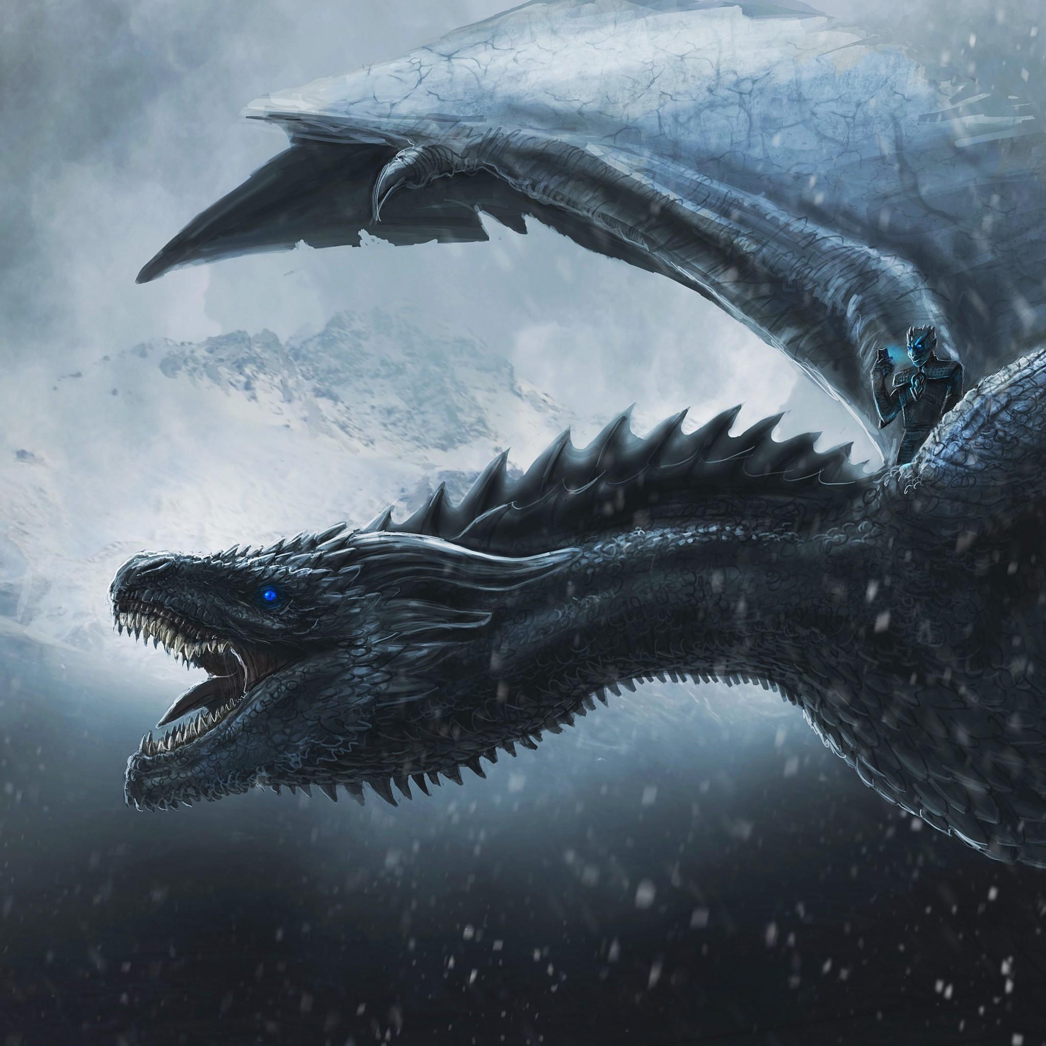 Night King Dragon Game Of Thrones