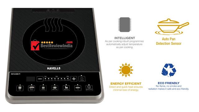 Havells 1600-Watt Induction Cooktop (Model No. Insta Cook PT)