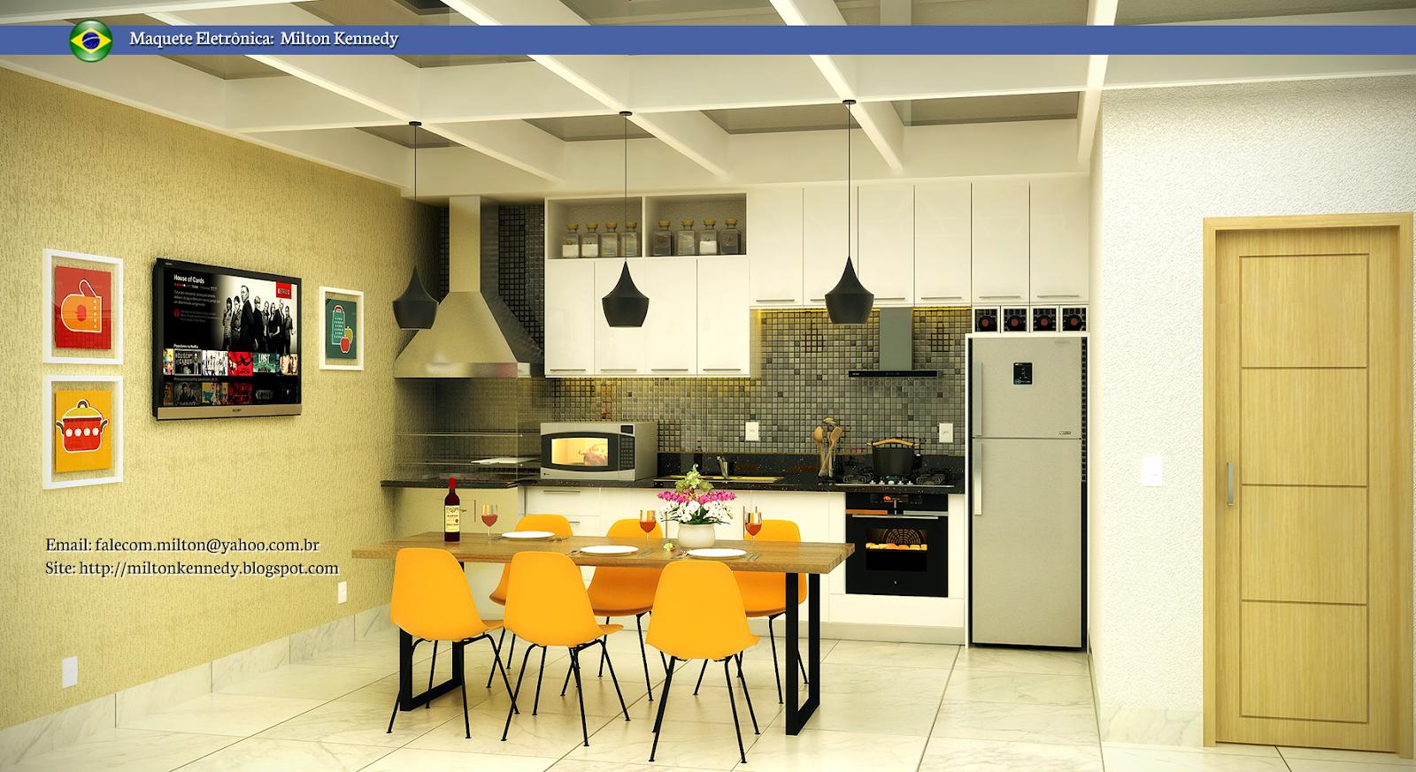 kitchen with pergola