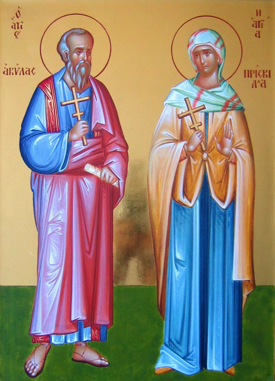 Saints Priscilla And Aquila As Models For Our Lives