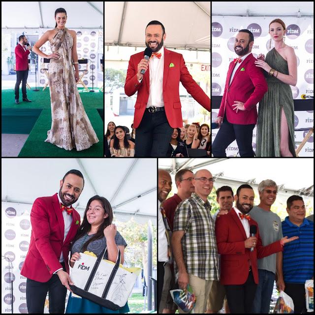 "NICK VERREOS FIDM.....Nick Verreos Appearance at FIDM Los Angeles ""3 Days of Fashion"" 2016: BLOG RECAP!"
