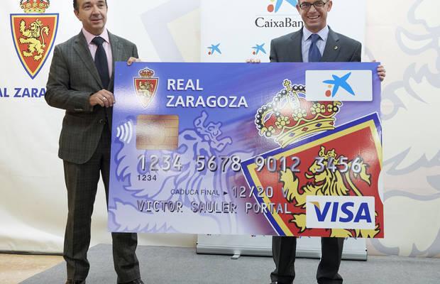 El Zaragoza renueva con CaixaBank