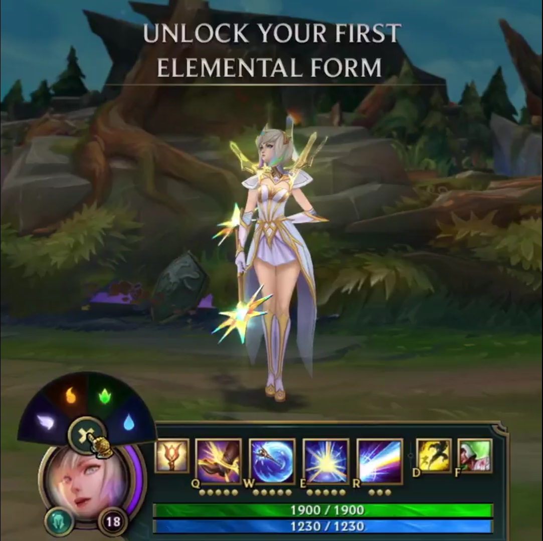 Surrender at 20: Elementalist Lux Video Teasers