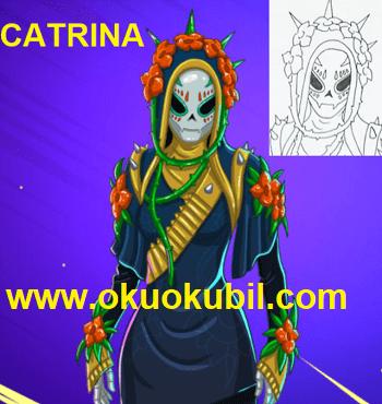 How to draw Catrina Catrina Boyama sayfası İle Çizim Öğren yeni 2020