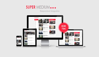 Supermedium Responsive Blogger Template
