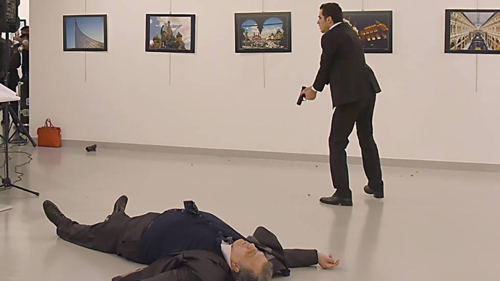El asesino del embajador ruso en Ankara era un policía turco de 22 años