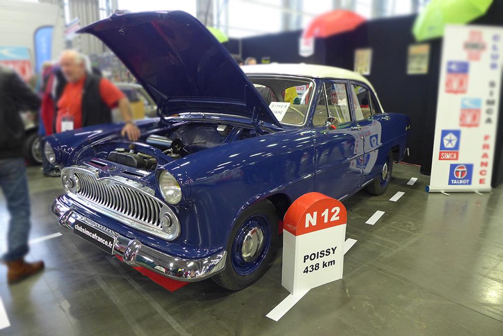 Exposition Historic Auto à la beaujoire de Nantes, salon du véhicule de collection,