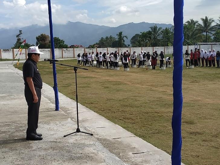 Wali Kota Sungai penuh AJB Buka Pekan Olahraga Pelajar Kot 2019