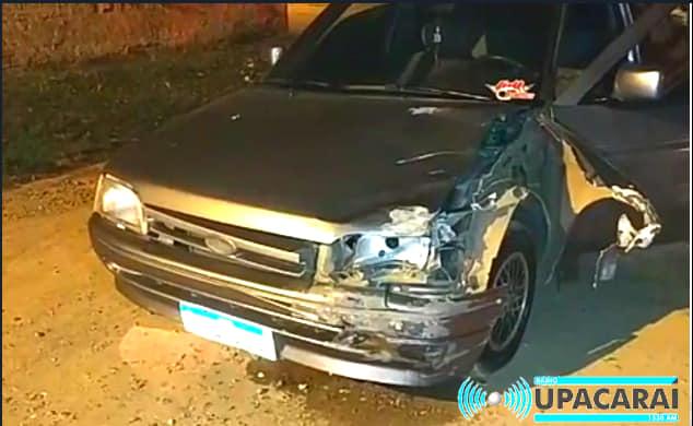 Motociclista ferido em acidente na rua General Neto