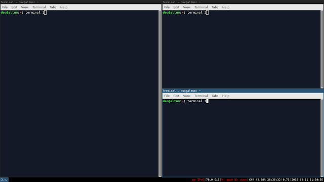 Jenis Desktop Environment Linux Teringan Sampai Terbagus I3 Window Manager
