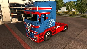 Vogel v2 skin for Scania RJL