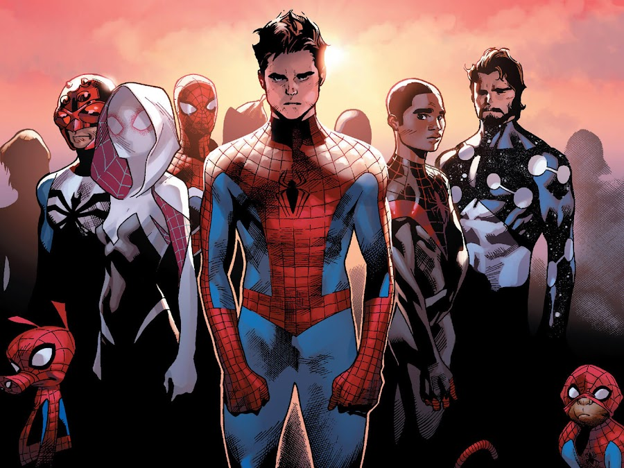amazing spiderman spider verse comics
