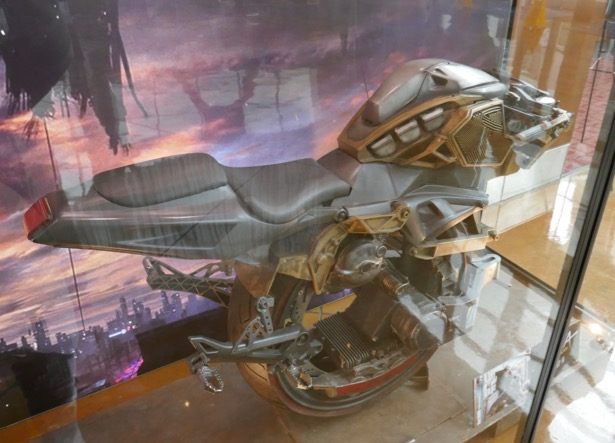 Alita Battle Angel gyro-bike
