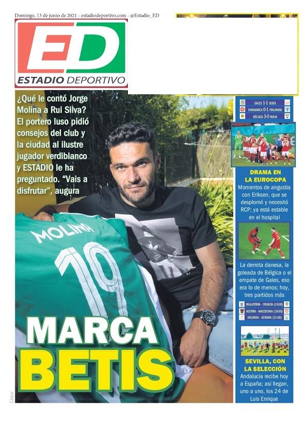 """Estadio Deportivo: """"Marca Betis"""""""
