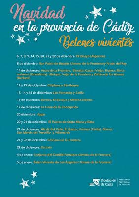 Cádiz - Belenes Vivientes 2019
