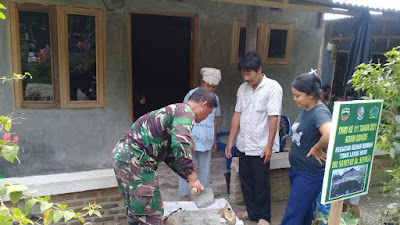 Rumahnya Direhab, Saminah: Terima Kasih TNI