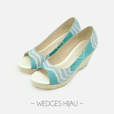 Wedges Hijau The Warna Indonesia