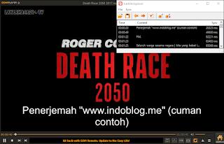 cara mengatur timing file subtitle yang tidak pas di media player clasic
