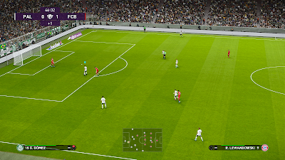 PES 2020 Animated Adboard + Fake 3D Pitch by ErenArat