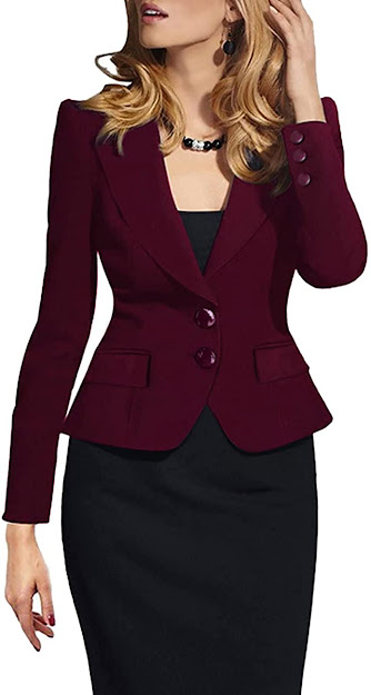 Fitted Blazers Jackets for Women