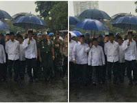 Heboh foto Jokowi di Aksi Super Damai ternyata persis foto Soekarno