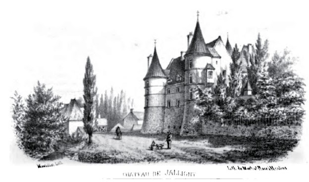 patrimoine de l'Allier château de Jalligny