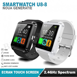 SMARTWATCH U-WATCH BLUETOOTH U8 ALB