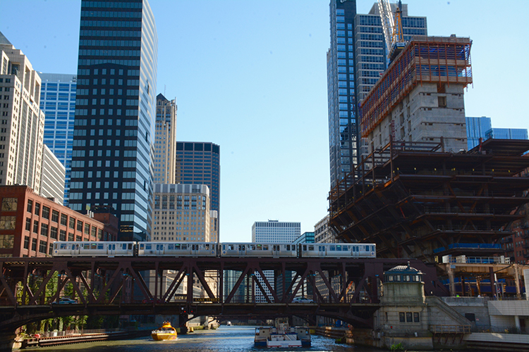 Chicago River Cruise sites